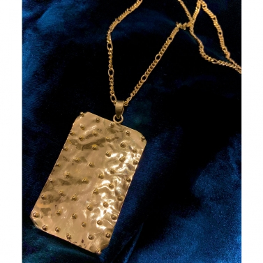 Doubloon Statement Pendent Necklace