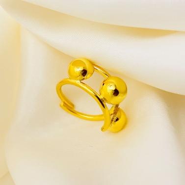Titim Tribe Gold Ring