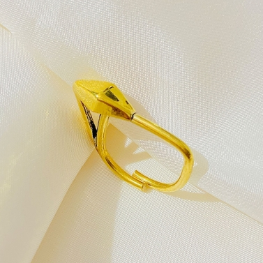 Arrow Gold Statement Ring