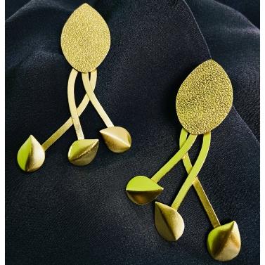 Pragtige Golla Gold Earrings