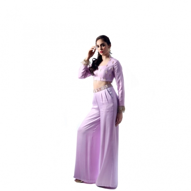 designer-womens-wear/pastel-purple-matka-neck-blouse-with-wide-pants1