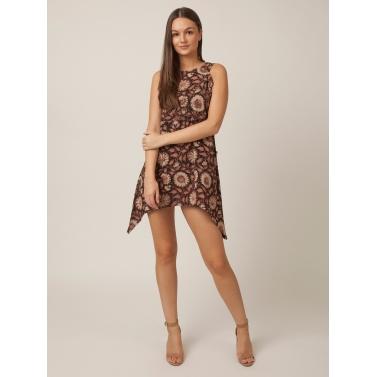 PAKHI SHORT DRESS - FLORAL