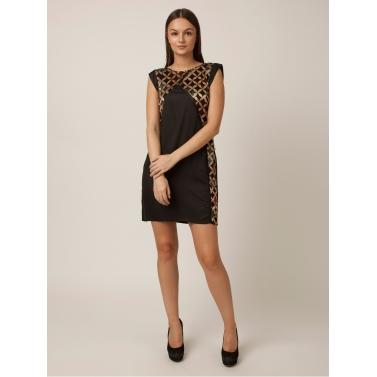 PAKHI DRESS - BLACK