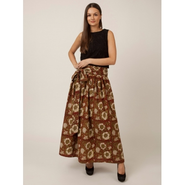 PAKHI LONG SKIRT - FLORAL