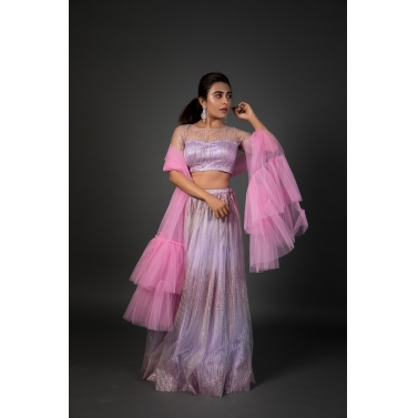 Unicorn inspired lehenga