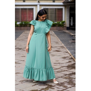 Two Sided Frill Dress