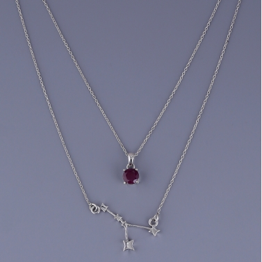 Cancer Layered Necklace