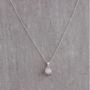 Libra Birthstone Necklace