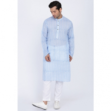 designer-mens-wear/mist-hand-block-kurta