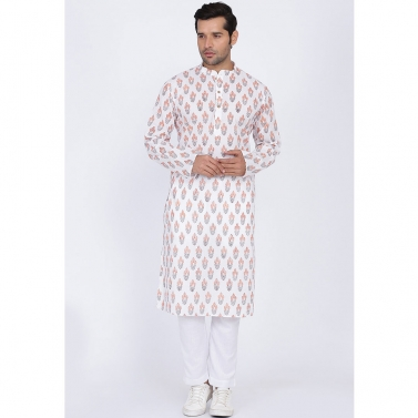 designer-mens-wear/flax-hand-block-kurta