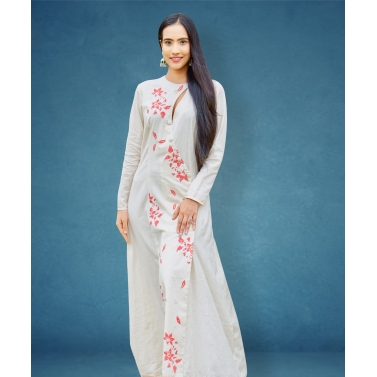 designer-womens-wear/designer-dresses/cream-overlap-maxi