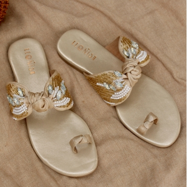 designer-womens-wear/bow-flats-cream