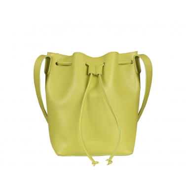 Bucky Small Lime Bucket Bag
