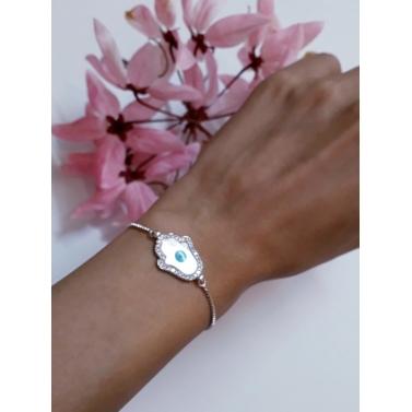 Hamsa Evileye bracelet