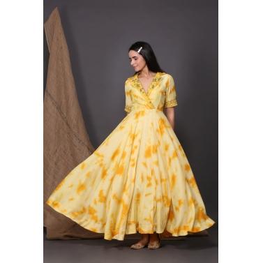 sunshine collar dress