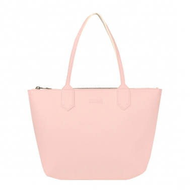 Zippy blush medium tote bag