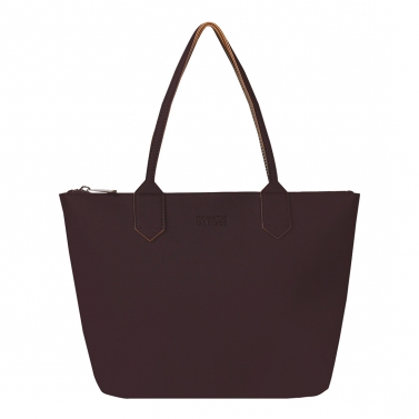 zippy aubergine medium tote bag