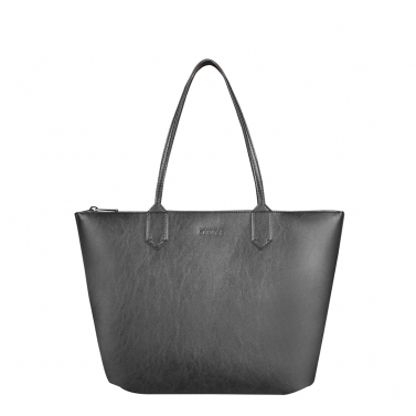 zippy charcoal medium tote bag