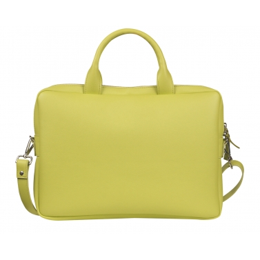 sycamore lime laptop bag