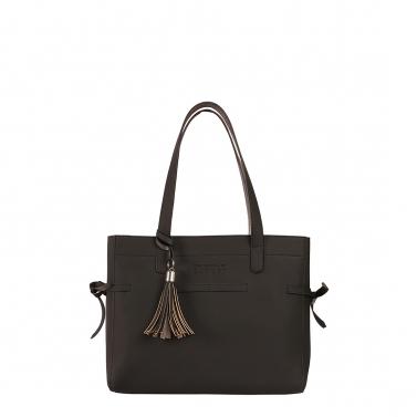 seymour black tote bag