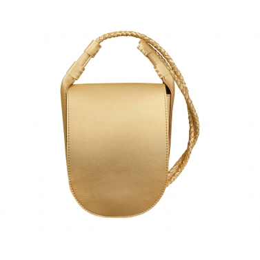 toss sling bag - gold
