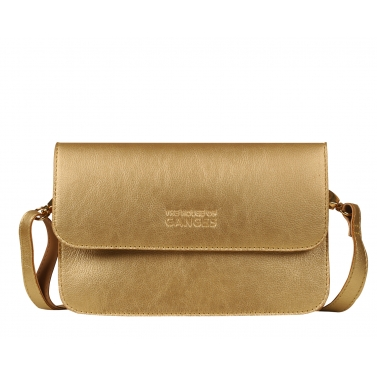 carlisle crossbody - gold