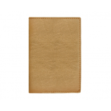 garnet passport cover - gold