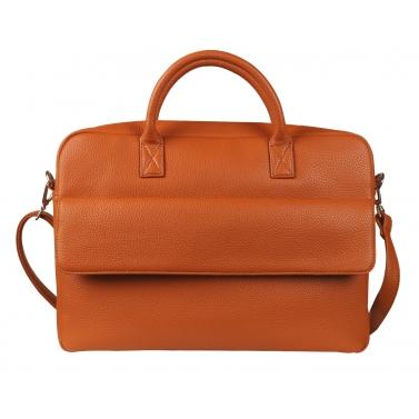 camdale laptop bag - rust