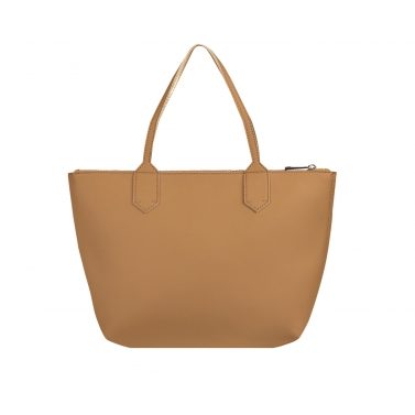 zippy large tote bag - mud