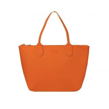 zippy large tote bag - tan