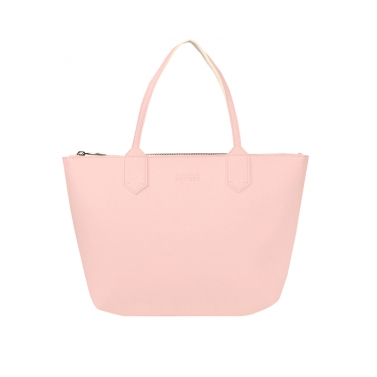 zippy large tote bag - blush