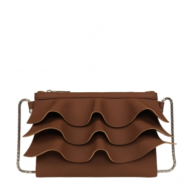 bruffle crossbody - mud