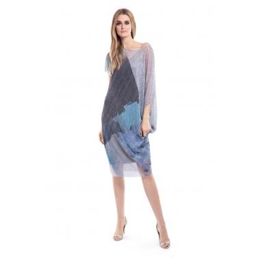 Glittery Sheer Dress with Inner