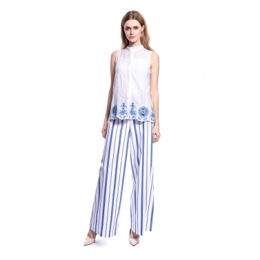 designer-womens-wear/blue-floral-embroidery-sleeveless-top