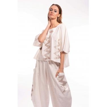 Linen Sequins Genie Set