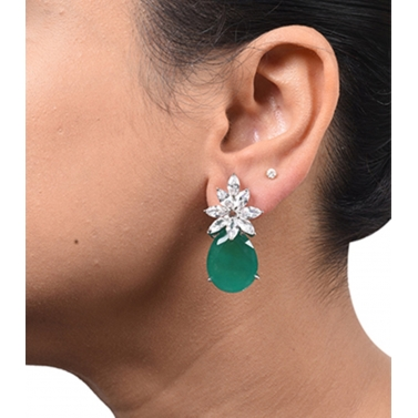 designer-womens-wear/flower-style-marquise-diamond-top-with-pear-drop