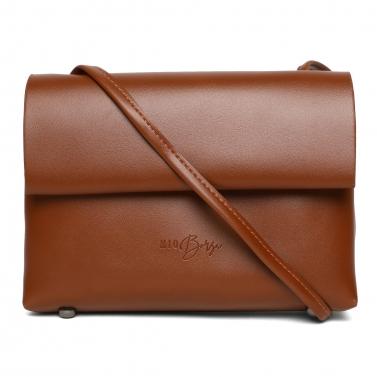 Brown Soft - PU Crossbody Bag