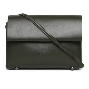 Black Soft - PU Crossbody Bag