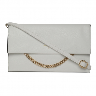 designer-womens-wear/gold-chain-white-side-sling-clutch