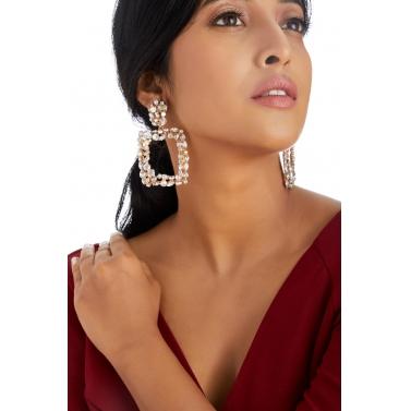 Crystal Glamour Earrings