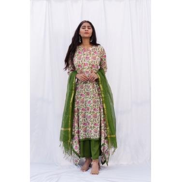 Bharma jaal paksh suit set