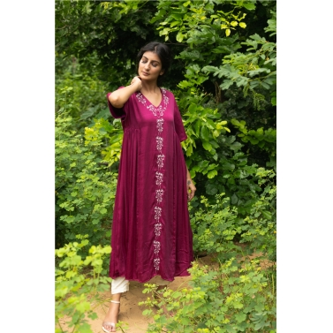 Wine Gathers Kurta