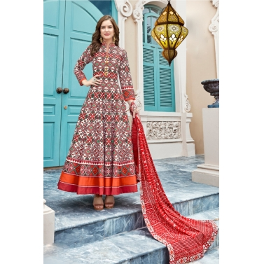 designer-womens-wear/designer-salwar-kameez/abstract-multi-color-patola-anarkali-suit