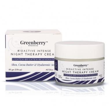 Greenberry Organics Bio Active Intense Night Therapy Cream
