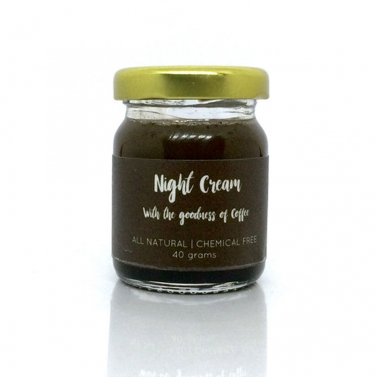 Natural Coffee Night Cream