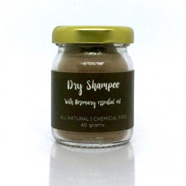 Natural Rosemary Dry Shampoo