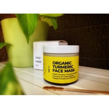 Organic Turmeric Face Mask