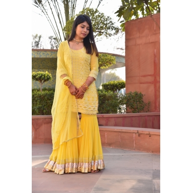Yellow Garara set