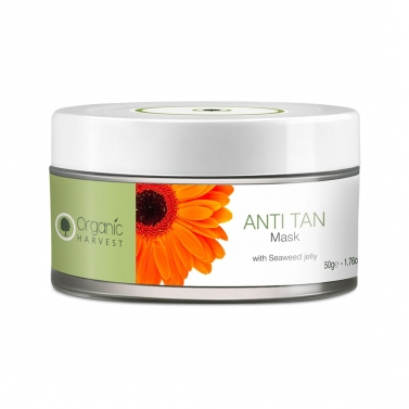 Organic Harvest Anti Tan Mask, 50gm