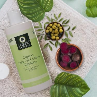 Organic Harvest Hairfall Control Shampoo, 500gm